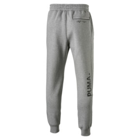 Thumbnail 5 van Epoch sweatpants met manchetten voor mannen, Medium Gray Heather, medium