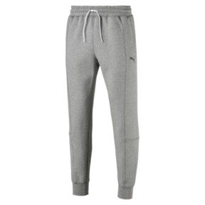 Thumbnail 4 van Epoch sweatpants met manchetten voor mannen, Medium Gray Heather, medium