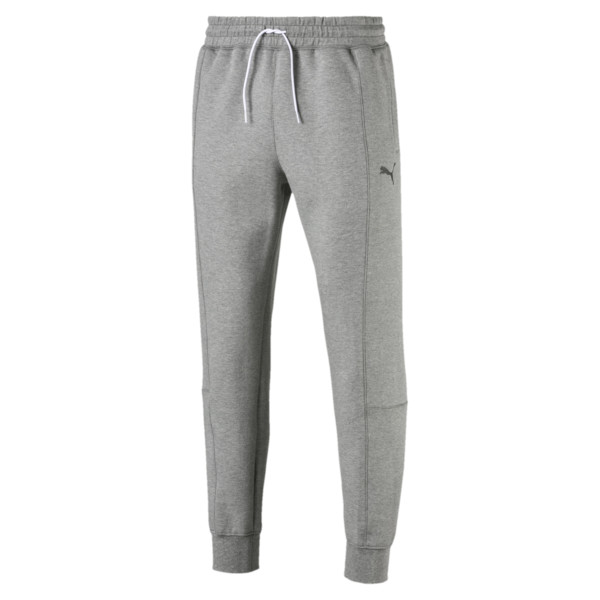 Epoch sweatpants met manchetten voor mannen, Medium Gray Heather, large