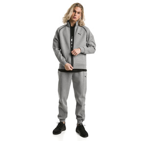 Thumbnail 3 van Epoch sweatpants met manchetten voor mannen, Medium Gray Heather, medium