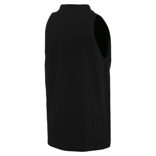 Classics Women's Tank Top, Cotton Black, large