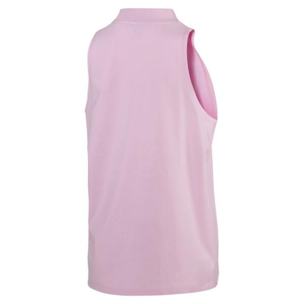 Camiseta sin mangas Classics Logo para mujer, Pale Pink, grande