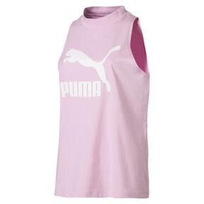 Miniatura 1 de Camiseta sin mangas Classics Logo para mujer, Pale Pink, mediano