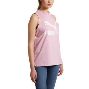 Miniatura 2 de Camiseta sin mangas Classics Logo para mujer, Pale Pink, mediano