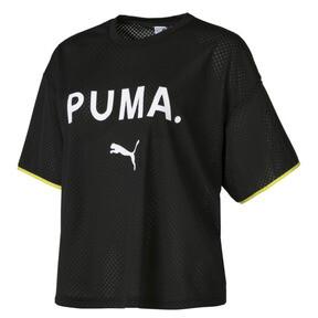 Thumbnail 6 of Chase Women's Mesh Tee, Puma Black, medium