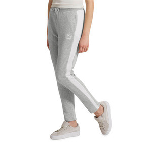 Thumbnail 2 of Classics Women's T7 French Terry Track Pants, Light Gray Heather, medium