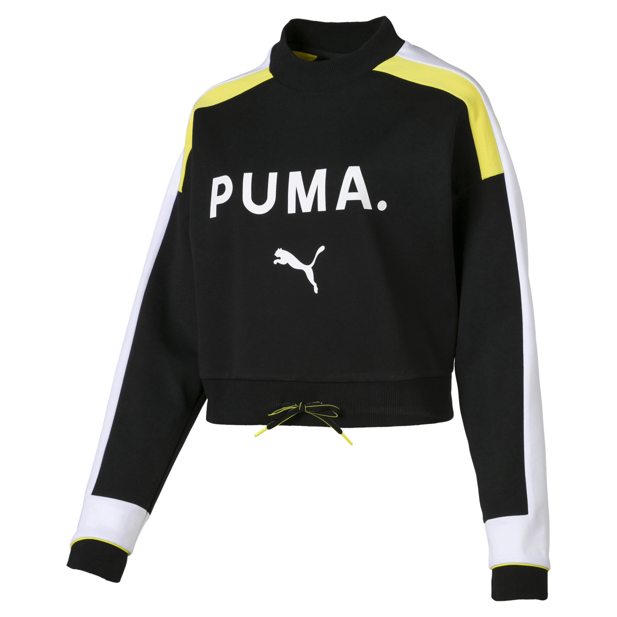 PUMA-Chase-Damen-Sweatshirt-Frauen-Sweat-Neu Indexbild 7