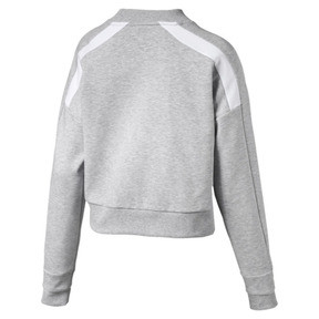 Thumbnail 4 of Chase Women's Sweater, Light Gray Heather, medium