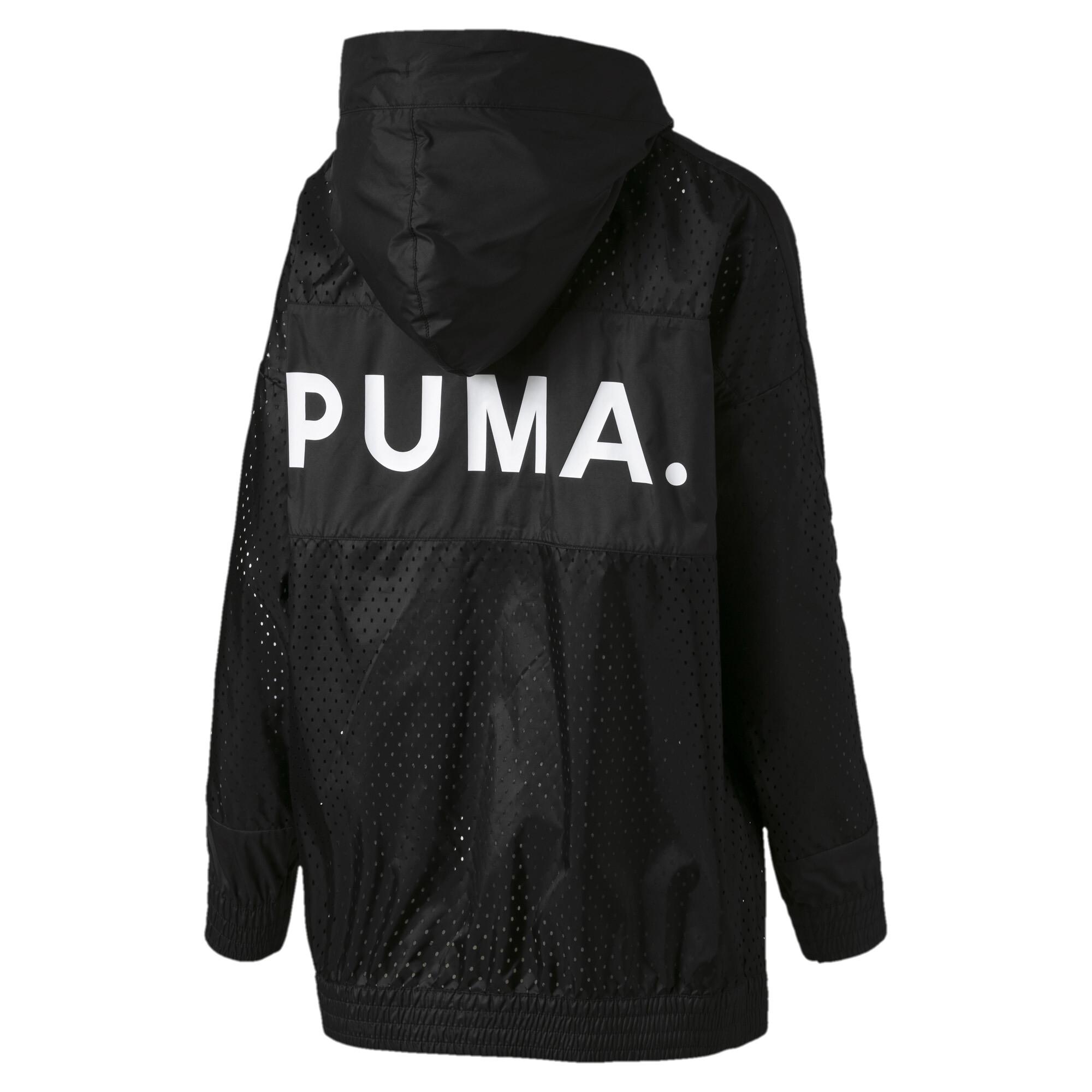 Image Puma Chase Woven Full Zip Hooded Women's Jacket #5