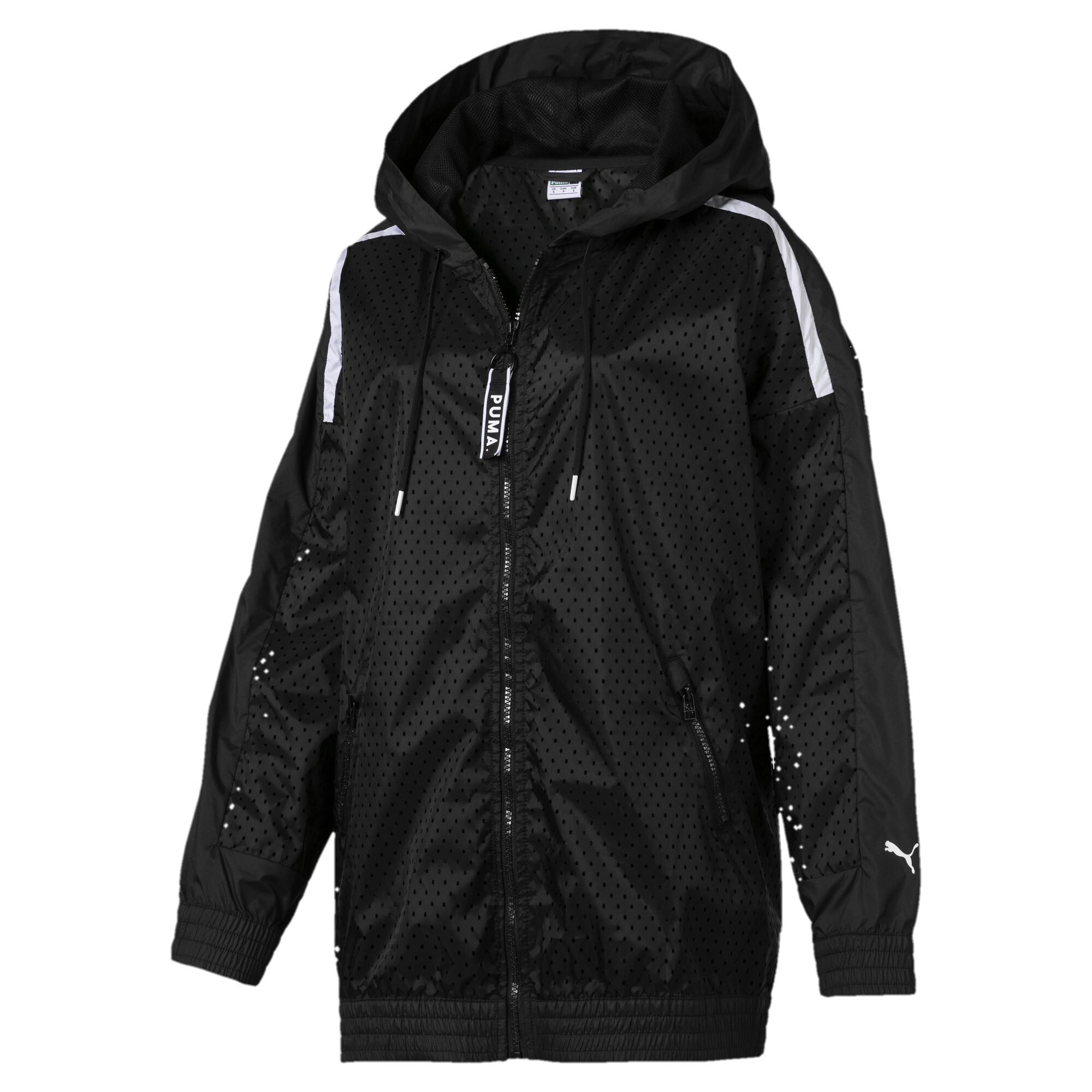 Image Puma Chase Woven Full Zip Hooded Women's Jacket #4