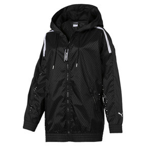 Chase Woven Full Zip Hooded Women's Jacket