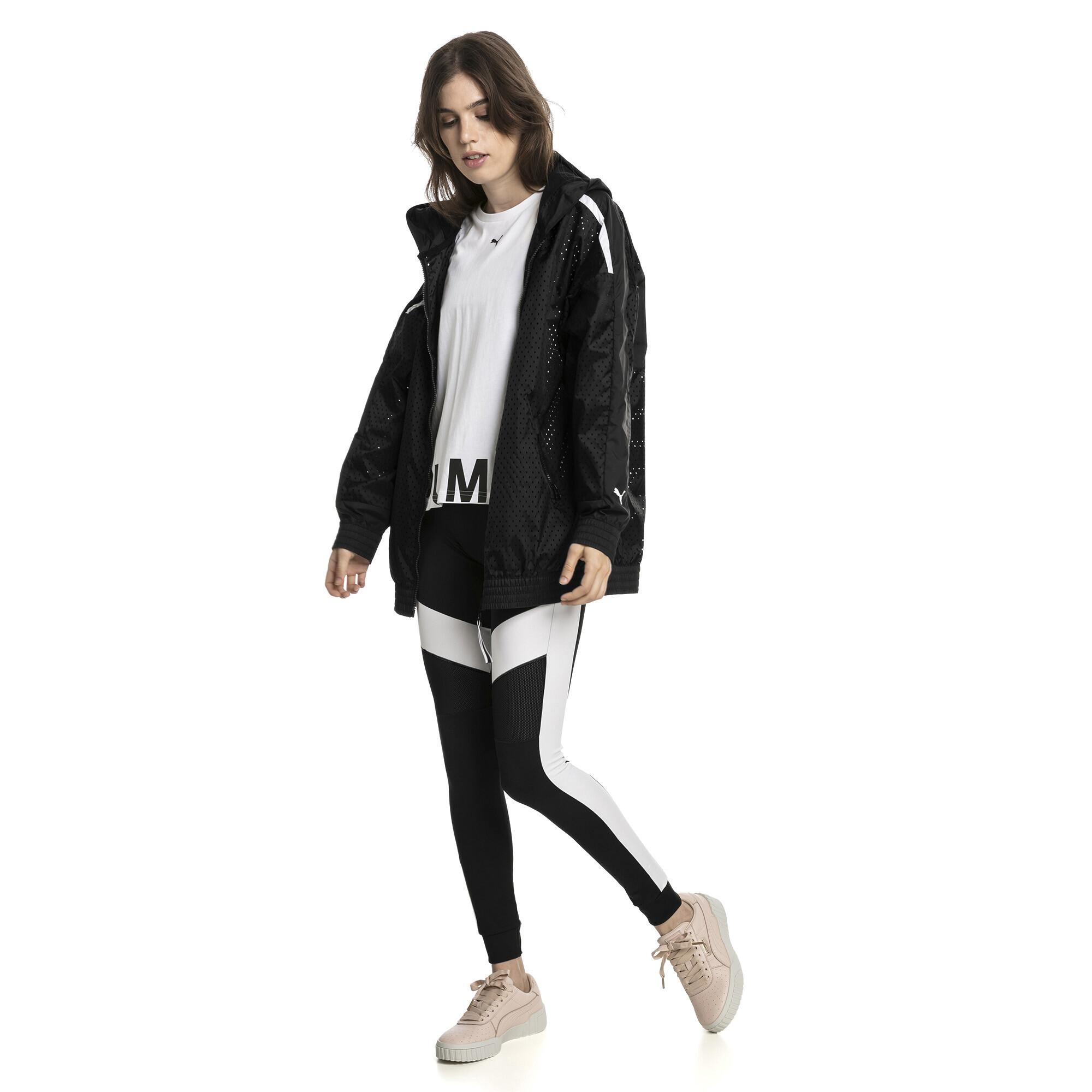 Image Puma Chase Woven Full Zip Hooded Women's Jacket #3