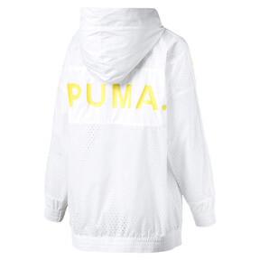 Thumbnail 4 of Chase Woven Full Zip Hooded Women's Jacket, Puma White, medium
