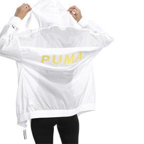 Thumbnail 3 of Chase Woven Full Zip Hooded Women's Jacket, Puma White, medium