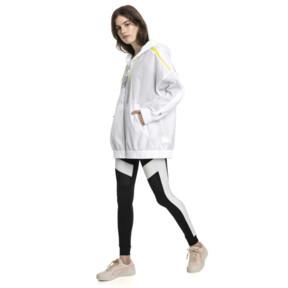 Thumbnail 5 of Chase Woven Full Zip Hooded Women's Jacket, Puma White, medium