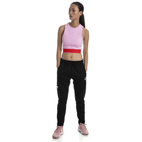 Thumbnail 3 of XTG Cropped Women's Top, Pale Pink, medium