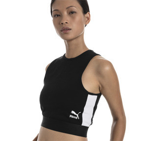 Thumbnail 1 of XTG Cropped Women's Top, Puma Black, medium