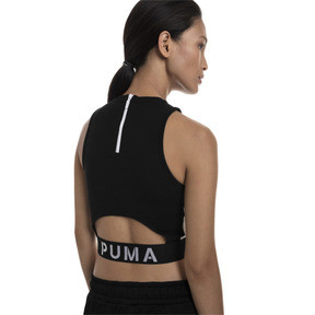 Thumbnail 2 of XTG Damen Crop Top, Puma Black, medium