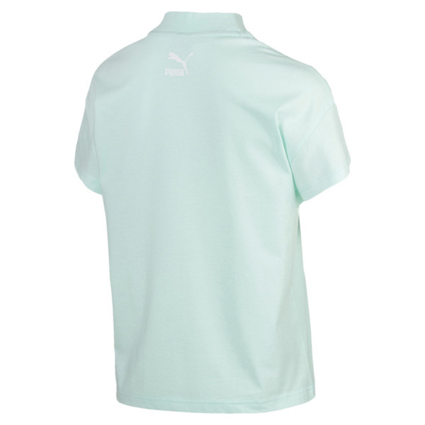 PUMA XTG Women's Graphic Tee, Fair Aqua, large