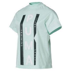 Thumbnail 1 of PUMA XTG Women's Graphic Tee, Fair Aqua, medium