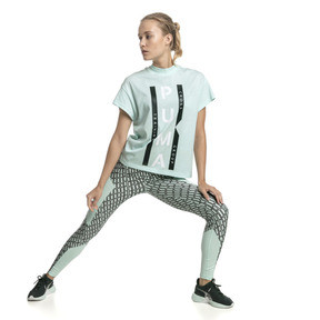 Thumbnail 5 of PUMA XTG Women's Graphic Tee, Fair Aqua, medium