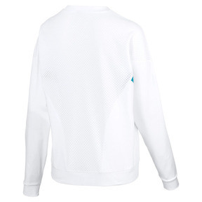 Thumbnail 5 of Chase Long Sleeve Women's Pullover, Puma White, medium