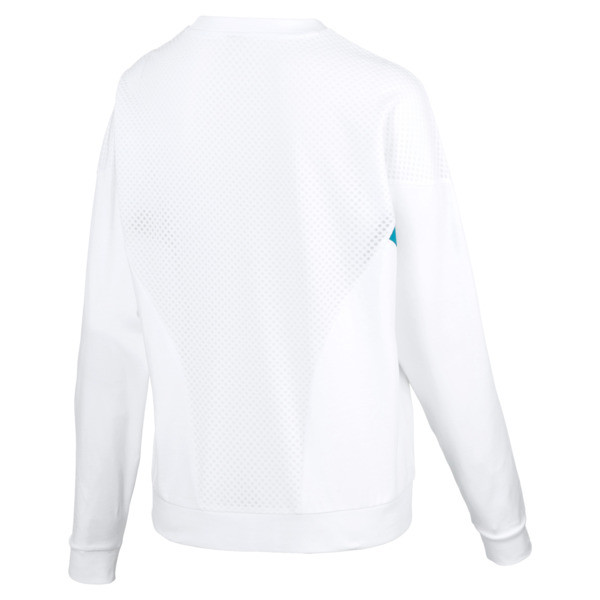 Chase Women's Long Sleeve Top, Puma White, large