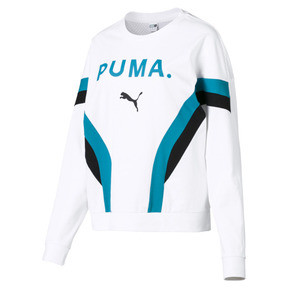 Thumbnail 4 of Chase Long Sleeve Women's Pullover, Puma White, medium
