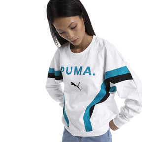 Thumbnail 1 of Chase Long Sleeve Women's Pullover, Puma White, medium