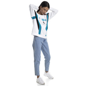 Thumbnail 3 of Chase Long Sleeve Women's Pullover, Puma White, medium