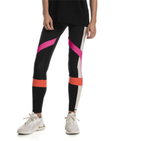 Thumbnail 1 of Chase Women's Leggings, Puma Black-Fuchsia Purple, medium