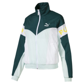 Thumbnail 1 of PUMA XTG 94 Woven Women's Windbreaker, Fair Aqua, medium