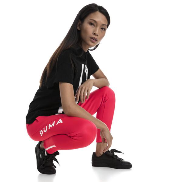 XTG 94 Women's Track Pants, Hibiscus, large