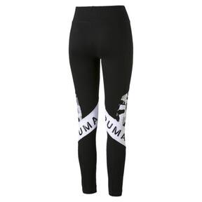 Thumbnail 4 of XTG Women's Leggings, Cotton Black-Puma White, medium