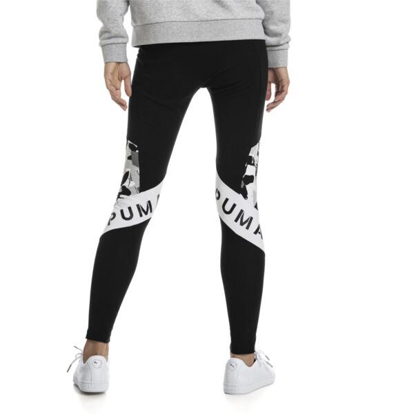 PUMA XTG Women's Leggings, Cotton Black-Puma White, large