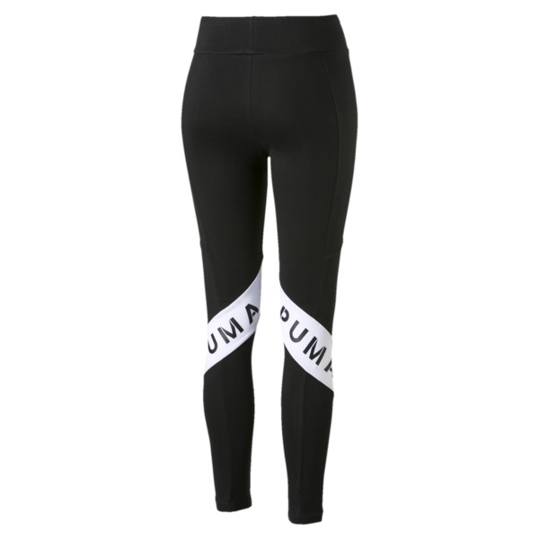 Leggings de mujer XTG, Cotton Black, grande
