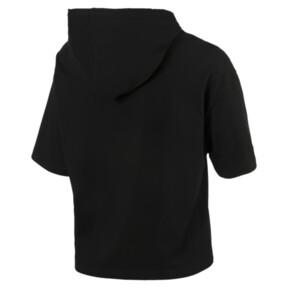Thumbnail 3 of Classics Women's Hooded Top, Cotton Black, medium