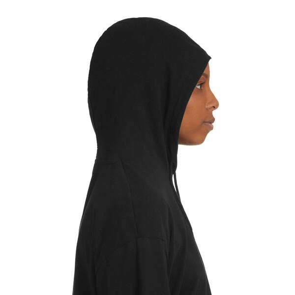 Classics Women's Hooded Top, Cotton Black, large