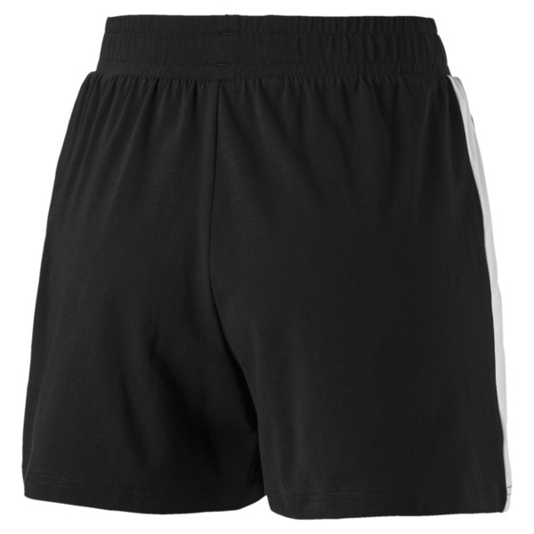 Classics T7 Knitted Women's Shorts, Cotton Black, large