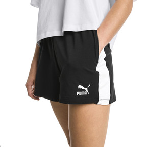 Thumbnail 2 of Classics T7 Knitted Women's Shorts, Cotton Black, medium