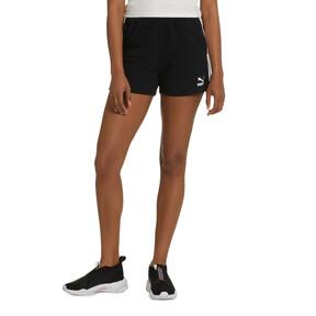 Thumbnail 2 of Classics Women's T7 Shorts, Cotton Black, medium