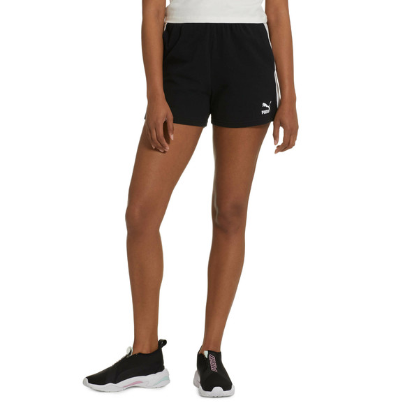 Classics Women's T7 Shorts, Cotton Black, large