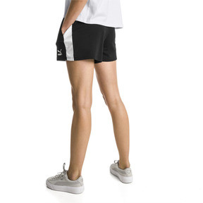 Thumbnail 3 of Classics T7 Knitted Women's Shorts, Cotton Black, medium