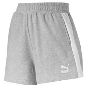 Thumbnail 1 of Classics Women's T7 Shorts, Light Gray Heather, medium