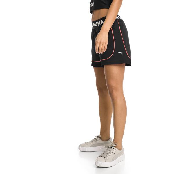 Chase Women's Shorts, Cotton Black, large