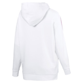 Thumbnail 4 of Classics Logo T7 Women's Hoodie, Puma White, medium
