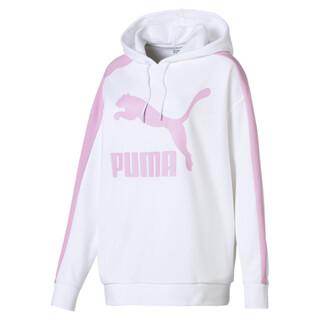 Görüntü Puma CLASSICS Logo T7 Kapüşonlu Kadın Sweatshirt