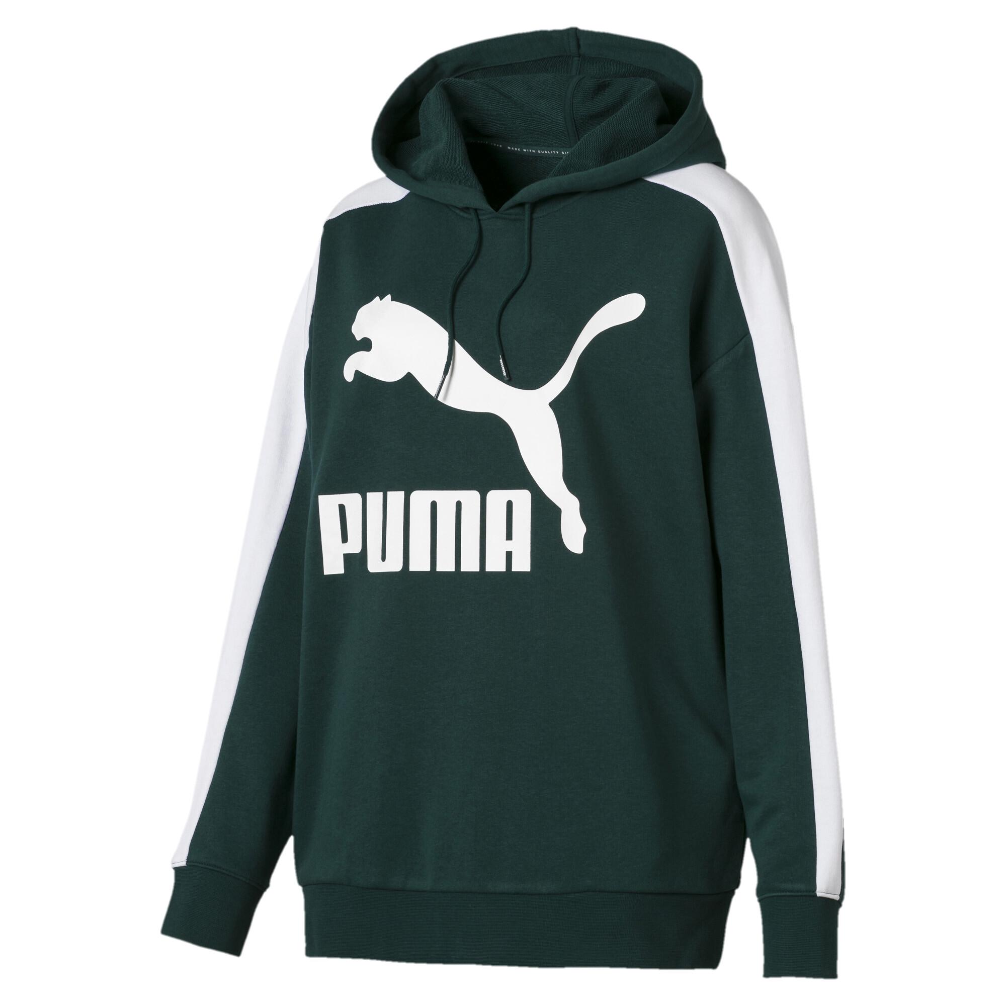 Image Puma Classics Logo T7 Women's Hoodie #4