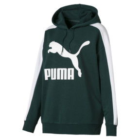 Thumbnail 4 of Classics Logo T7 Women's Hoodie, Ponderosa Pine, medium