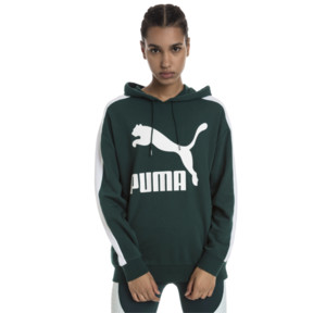 Thumbnail 1 of Classics Logo T7 Women's Hoodie, Ponderosa Pine, medium